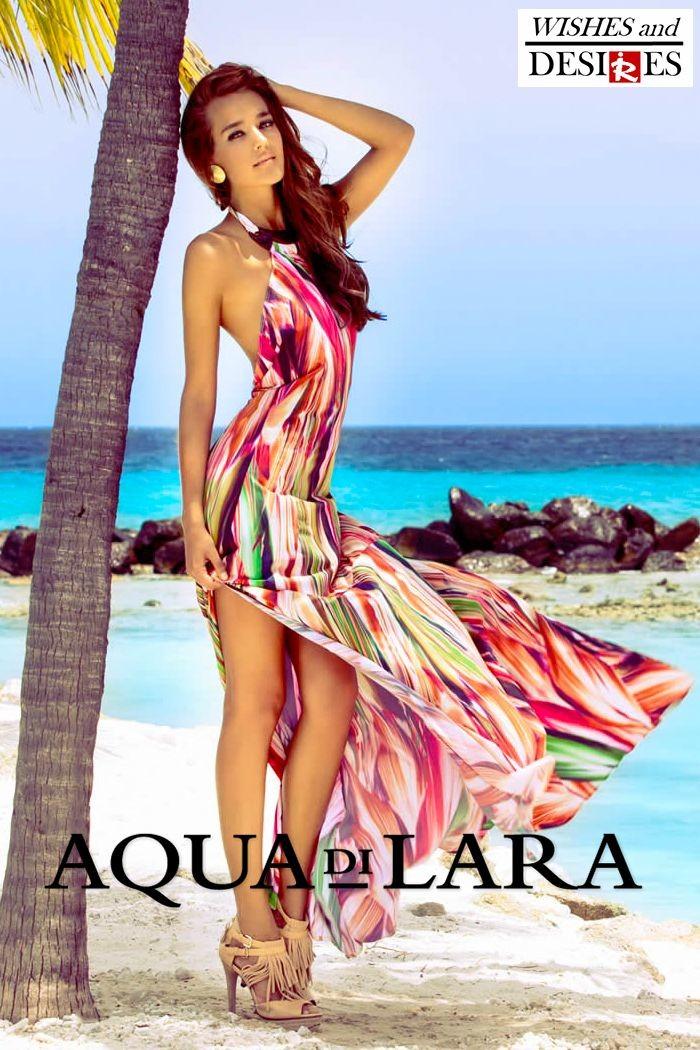 Redhead Illusion - Fashion Blog by Menia - Wishes and Desires - Swimwear - Aqua di Lara - SS-16-06
