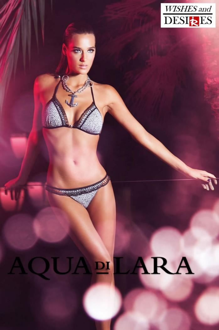Redhead Illusion - Fashion Blog by Menia - Wishes and Desires - Swimwear - Aqua di Lara - SS-16-15