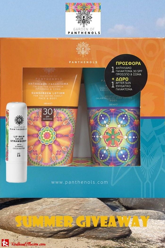 Redhead Illusion - Fashion Blog by Menia - Giveaway - Sunscreen Set Garden of Panthenols-02