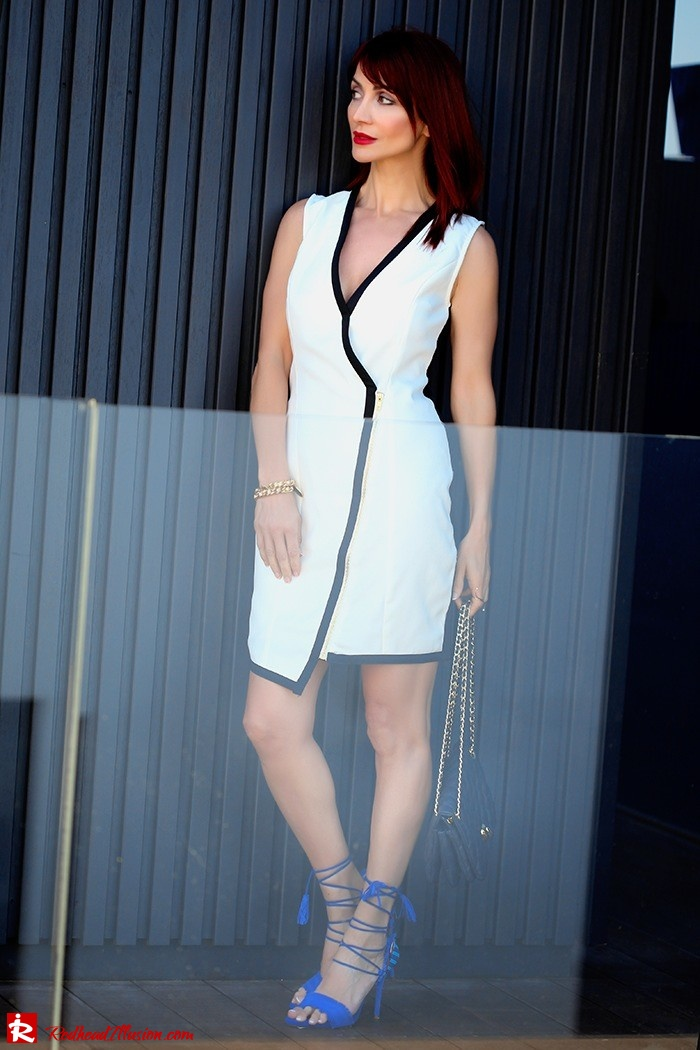 Redhead Illusion - Fashion Blog by Menia -Beside a Pool - Missguided Dress - Jessica Simpson Heels-04