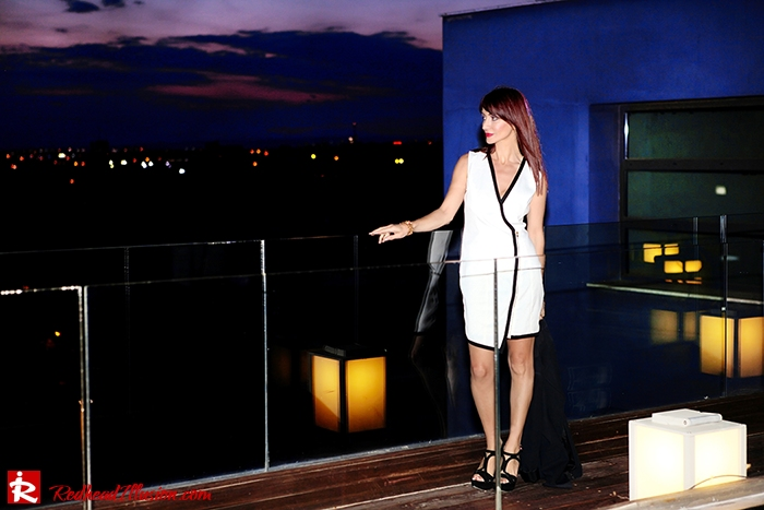Redhead Illusion - Fashion Blog by Menia -Beside a Pool - Missguided Dress - Jessica Simpson Heels-13