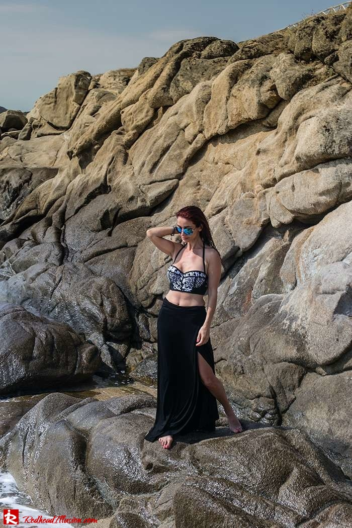 Redhead Illusion - Fashion Blog by Menia - Lately - 06 - On the Rocks - Peter Pilotto Bikini Top