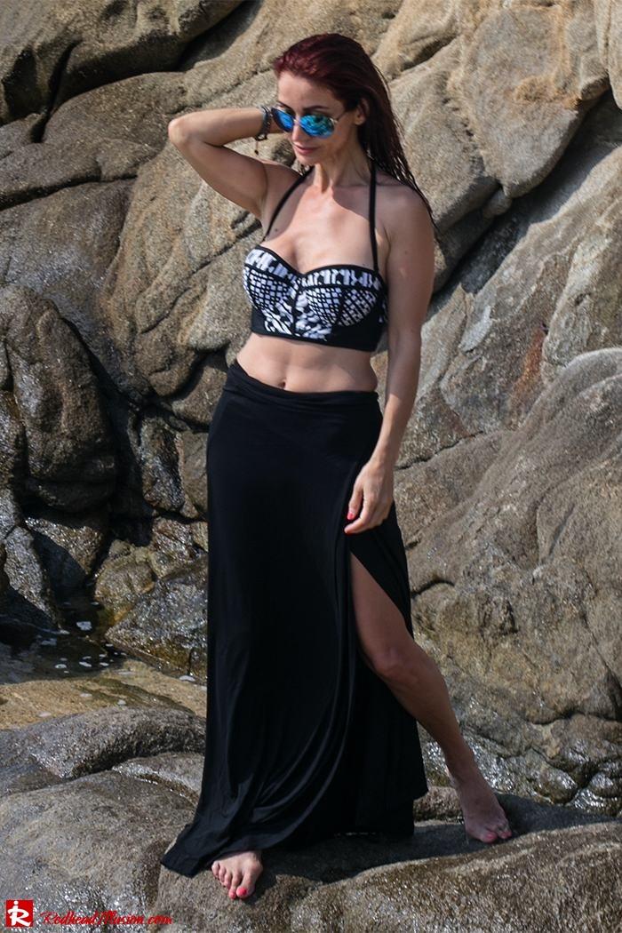 Redhead Illusion - Fashion Blog by Menia - On the rocks - Peter Pilotto - Bikini Top-11
