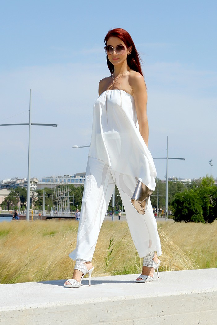 Redhead Illusion - Fashion Blog by Menia - Lately-05- Culotte - Top
