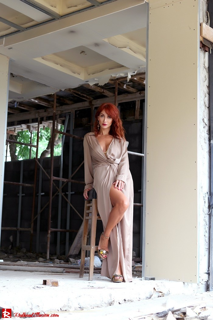 Redhead Illusion - Fashion Blog by Menia - Under Construction - Missguided Dress - Suzy Smith Bag-10