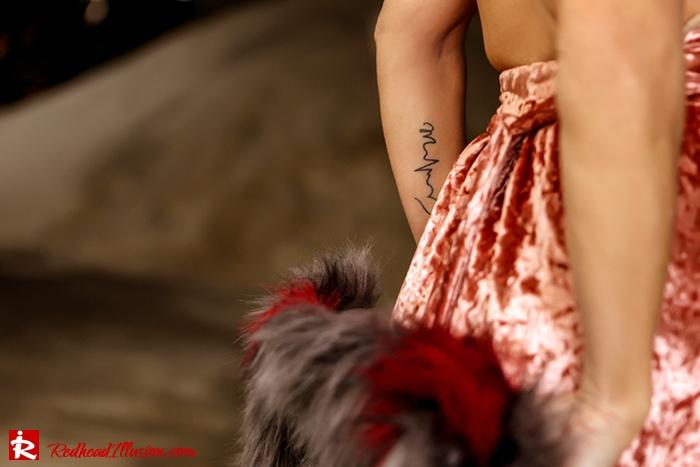 Redhead Illusion - Fashion Blog by Menia - So old so new - Missguided Dress-07