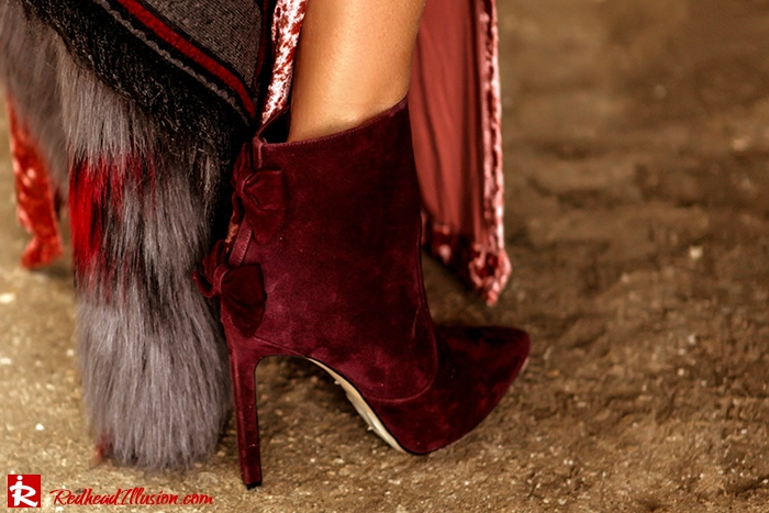 Redhead Illusion - Fashion Blog by Menia - So old so new - Missguided Dress-11