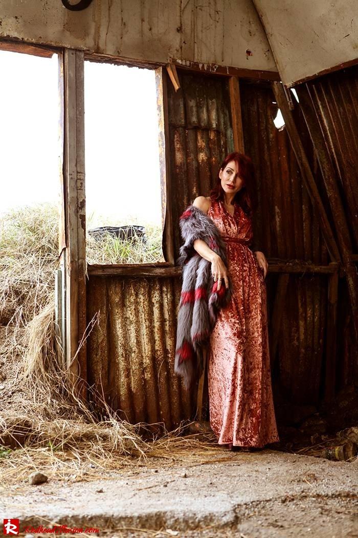 Redhead Illusion - Fashion Blog by Menia - So old so new - Missguided Dress-12