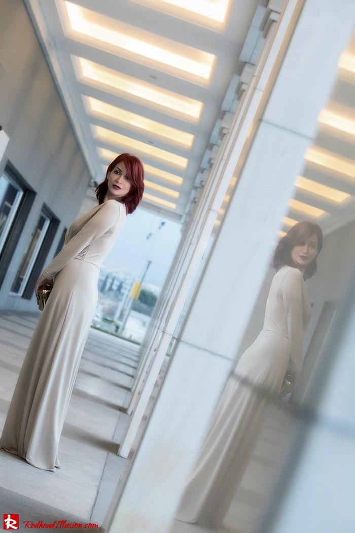 Redhead Illusion - Fashion Blog by Menia - Mind Trap - Lulus Maxi - Dress - Suzy Smith Clutch-07