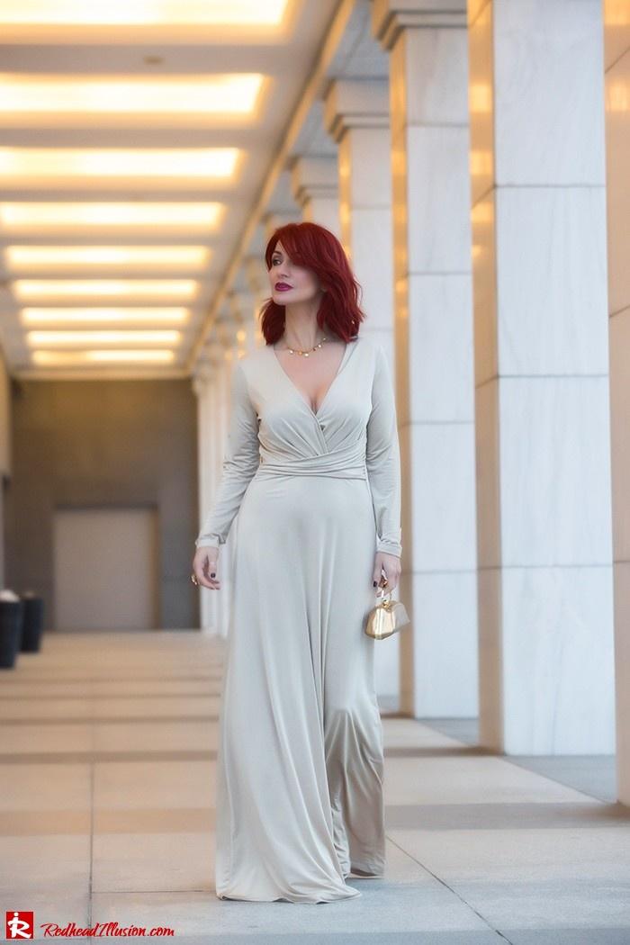 Redhead Illusion - Fashion Blog by Menia - Mind Trap - Lulus Maxi - Dress - Suzy Smith Clutch-10