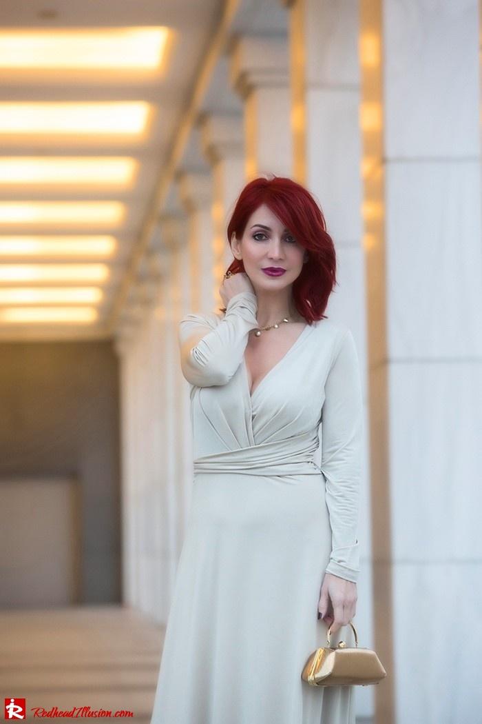 Redhead Illusion - Fashion Blog by Menia - Mind Trap - Lulus Maxi - Dress - Suzy Smith Clutch-11