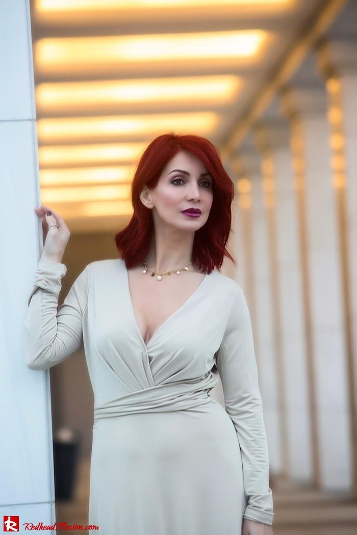 Redhead Illusion - Fashion Blog by Menia - Mind Trap - Lulus Maxi - Dress - Suzy Smith Clutch-12