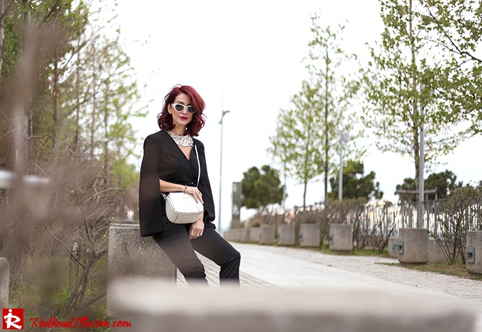 Redhead Illusion - Fashion Blog by Menia - Suiting - Lulus Jacket - Le Cose di Laura Accessories-04