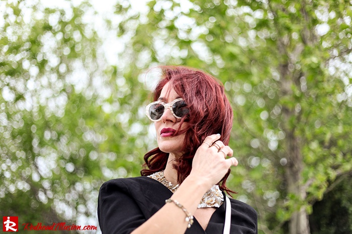Redhead Illusion - Fashion Blog by Menia - Suiting - Lulus Jacket - Le Cose di Laura Accessories-05