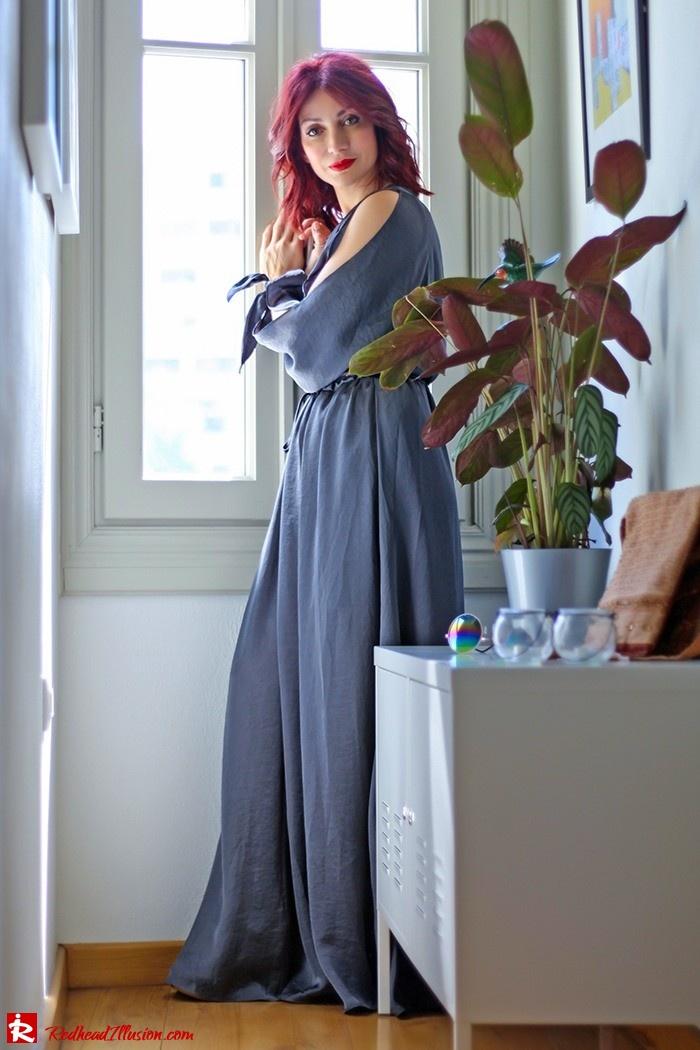Redhead Illusion - Fashion Blog by Menia - A sense of relaxation - Lulus Maxi Dress-03