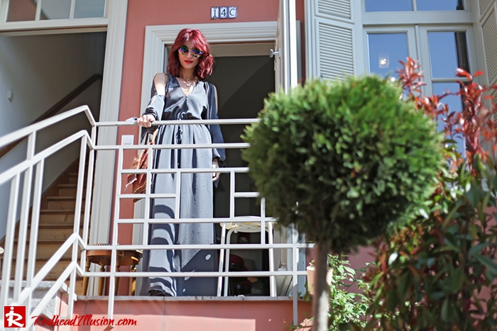 Redhead Illusion - Fashion Blog by Menia - A sense of relaxation - Lulus Maxi Dress-06