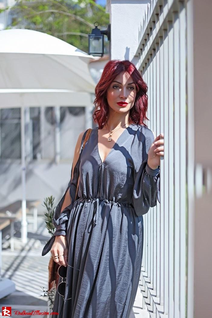 Redhead Illusion - Fashion Blog by Menia - A sense of relaxation - Lulus Maxi Dress-07