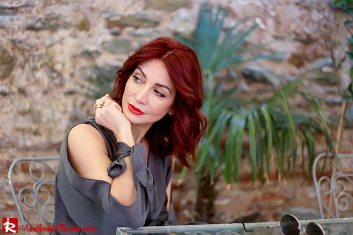 Redhead Illusion - Fashion Blog by Menia - A sense of relaxation - Lulus Maxi Dress-10