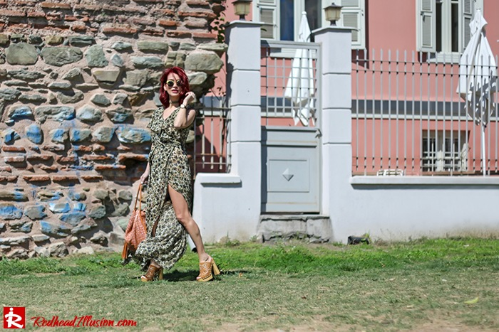 Redhead Illusion - Fashion Blog by Menia - One for all - Denny Rose Dress-06