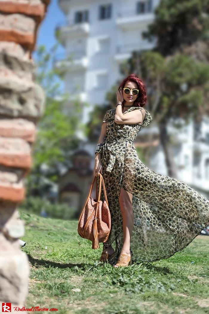 Redhead Illusion - Fashion Blog by Menia - One for all - Denny Rose Dress-08