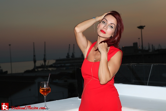 Redhead Illusion - Fashion Blog by Menia - Color your mood - Lulus Jupsuit-08