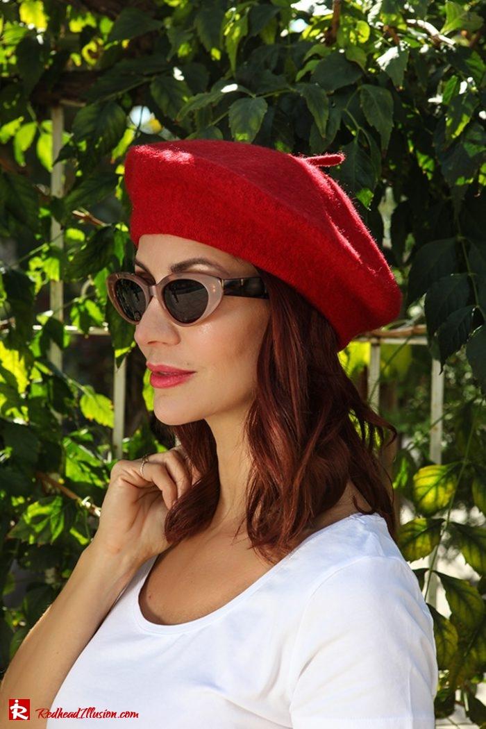 Redhead Illusion - Fashion Blog by Menia - Dior Beret-04