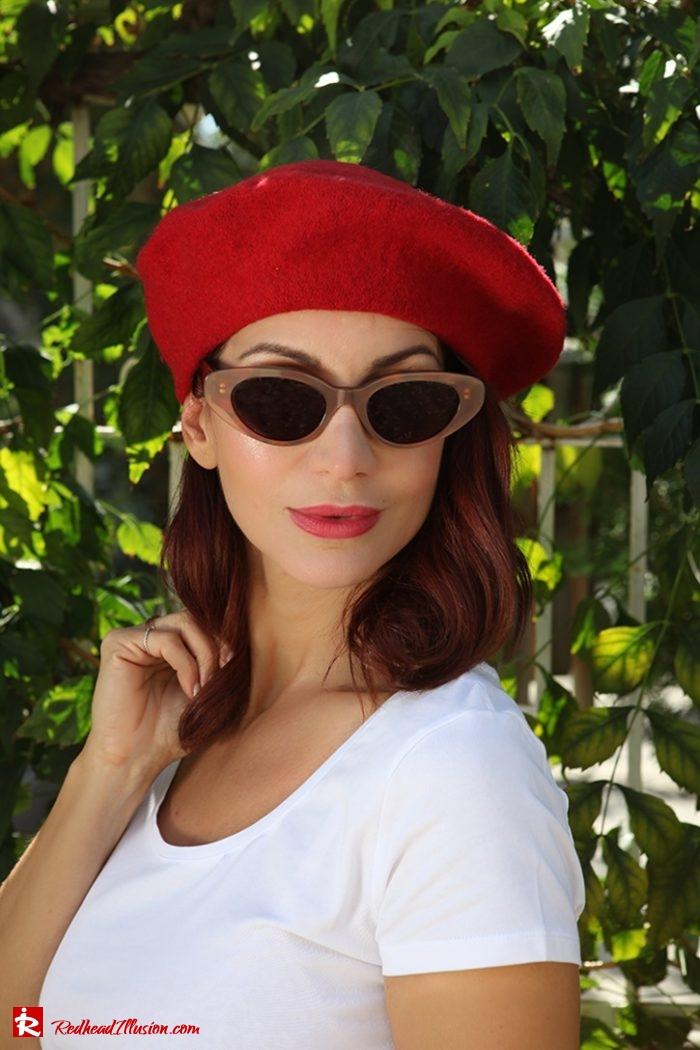 Redhead Illusion - Fashion Blog by Menia - Dior Beret-05