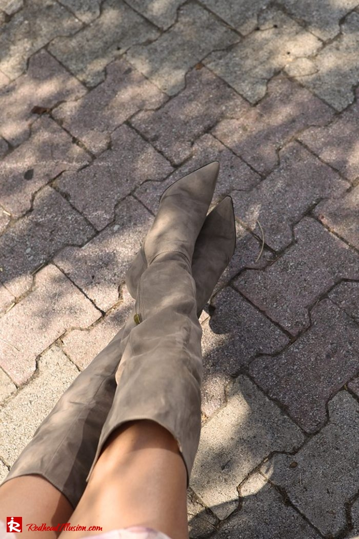 Redhead Illusion - Fashion Blog by Menia - Inspire your style - High and Sexy - OTK Boots-05