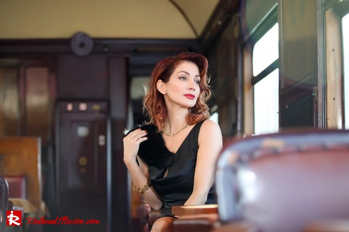 Redhead Illusion - Fashion Blog by Menia - A sense from the past - Orient Express - Missguided Pumps-03