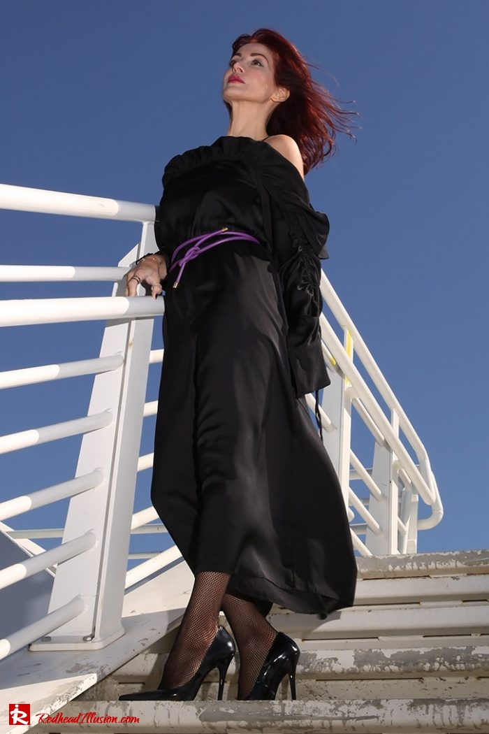 Redhead Illusion - Fashion Blog by Menia - editorial - Against the wind - Jumpsuit Asos-02