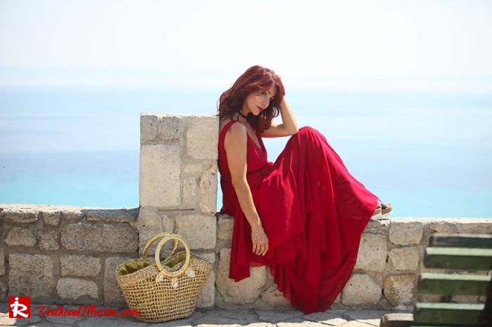 Redhead Illusion - Fashion Blog by Menia - Editorial - Ethereal Red - Shein Dress-04