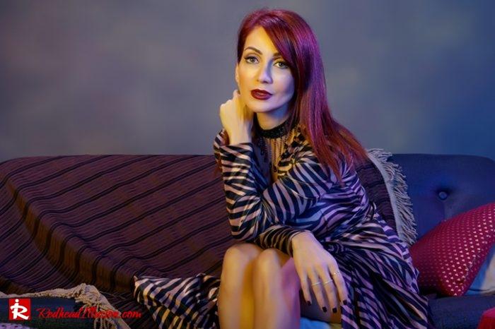 Redhead Illusion - Fashion Blog by Menia - Editorial - Fab-wrap - Toi-Moi Dress-05