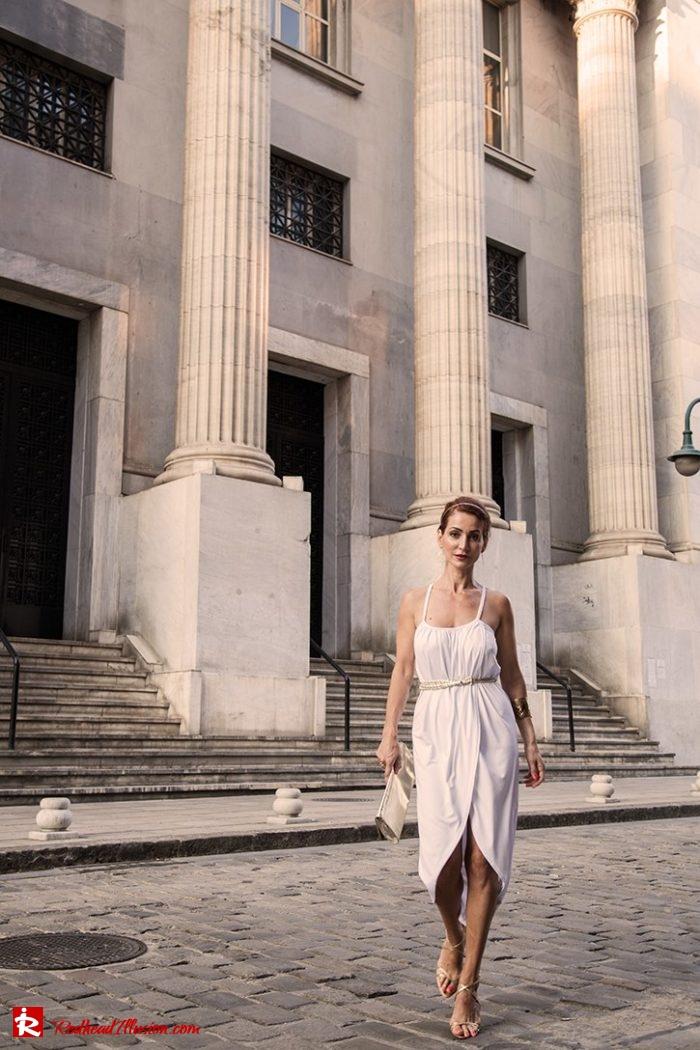 Redhead Illusion - Fashion Blog by Menia - Editorial - Grecian style - Dress-08