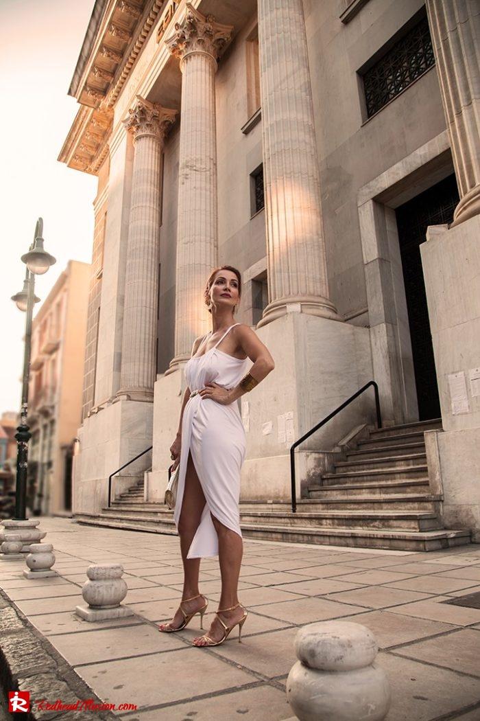 Redhead Illusion - Fashion Blog by Menia - Editorial - Grecian style - Dress-11