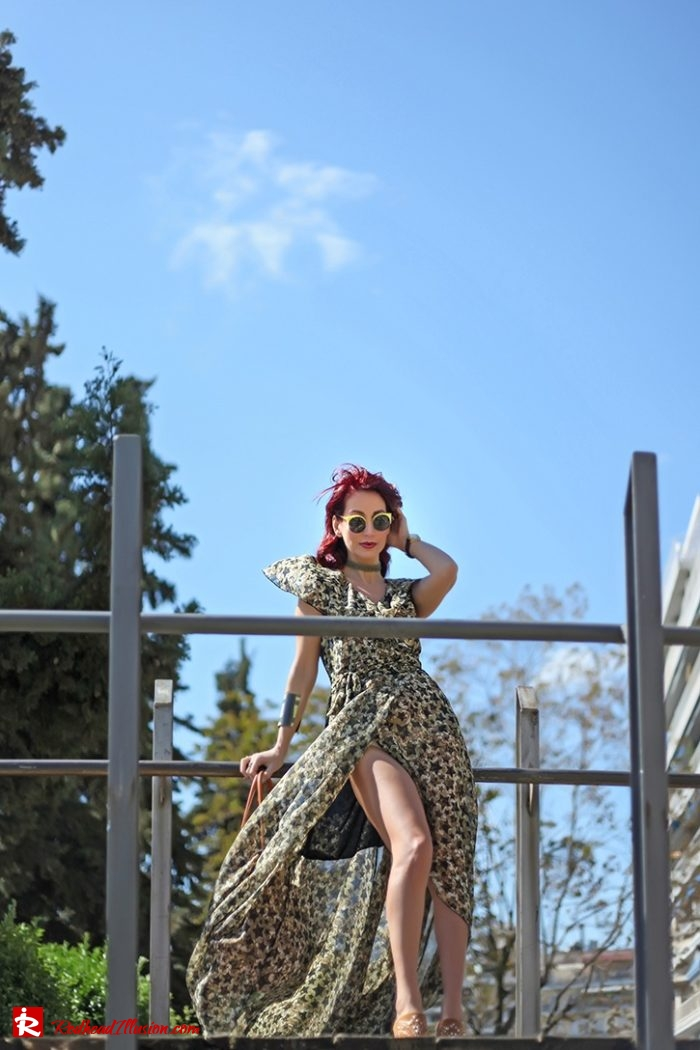 Redhead Illusion - Fashion Blog by Menia - Editorial - One for all - Denny Rose Dress-03