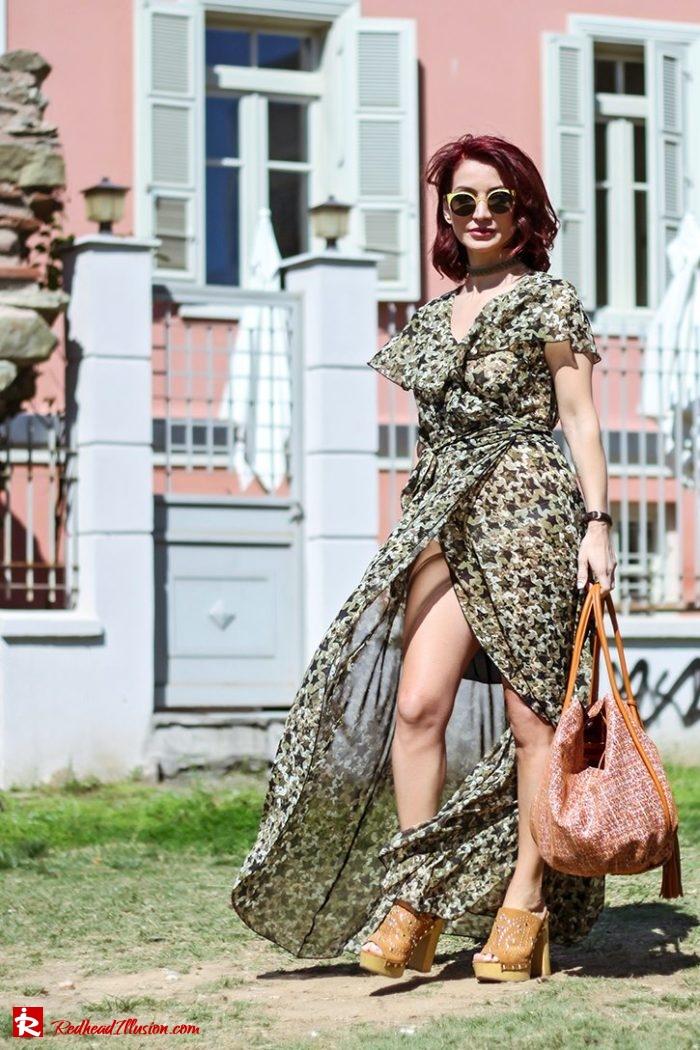 Redhead Illusion - Fashion Blog by Menia - Editorial - One for all - Denny Rose Dress-05