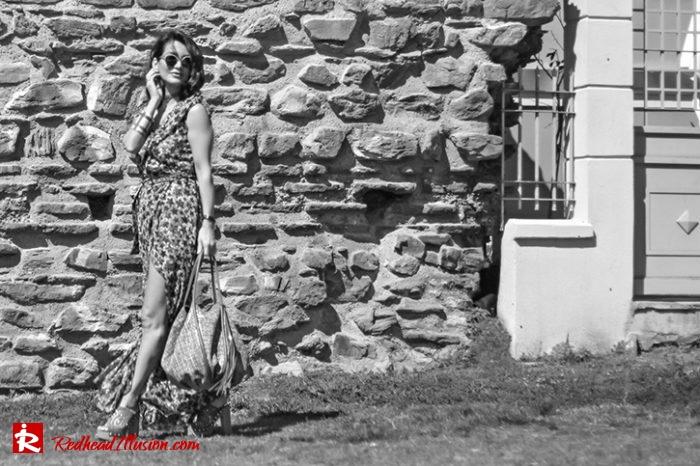 Redhead Illusion - Fashion Blog by Menia - Editorial - One for all - Denny Rose Dress-06