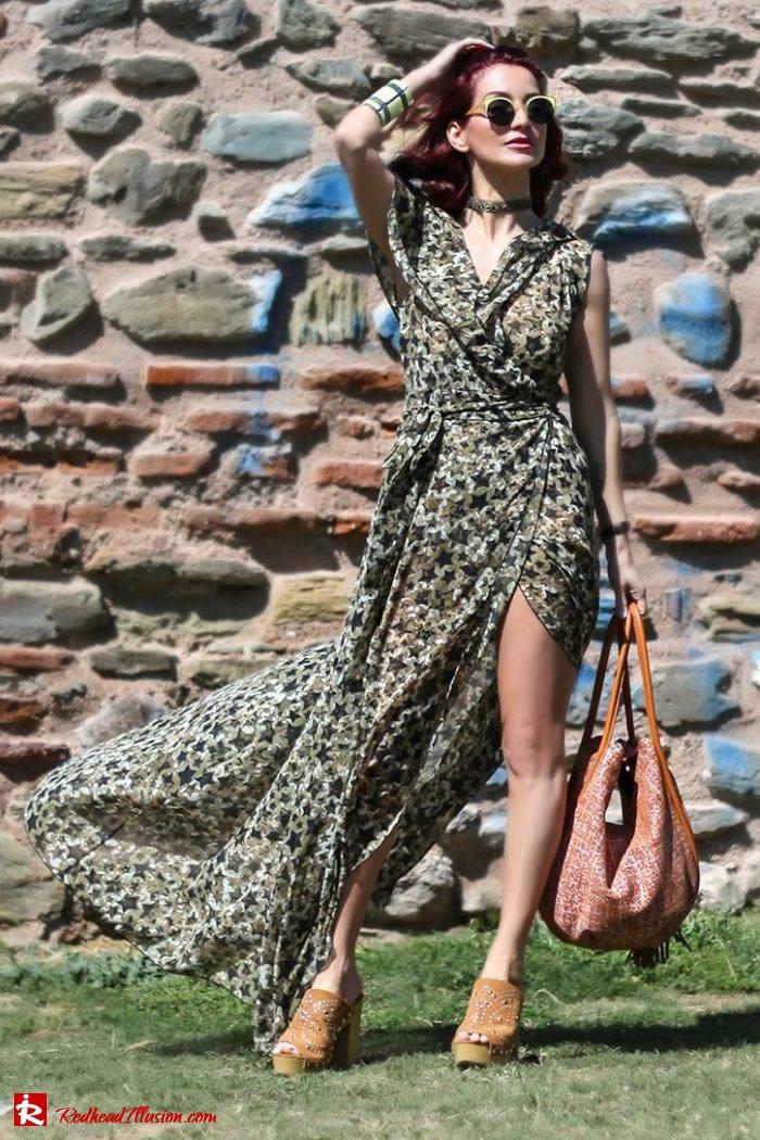 Redhead Illusion - Fashion Blog by Menia - Editorial - One for all - Denny Rose Dress-07