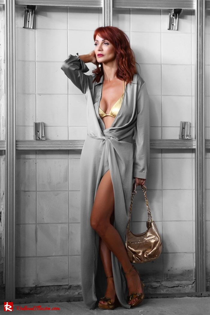 Redhead Illusion - Fashion Blog by Menia - Editorial - Under Construction - Missguided Dress - Suzy Smith Bag-02