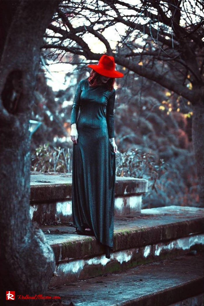 Redhead Illusion - Fashion Blog by Menia - Inspirations - The Hat Edition-03 - Georgoulias