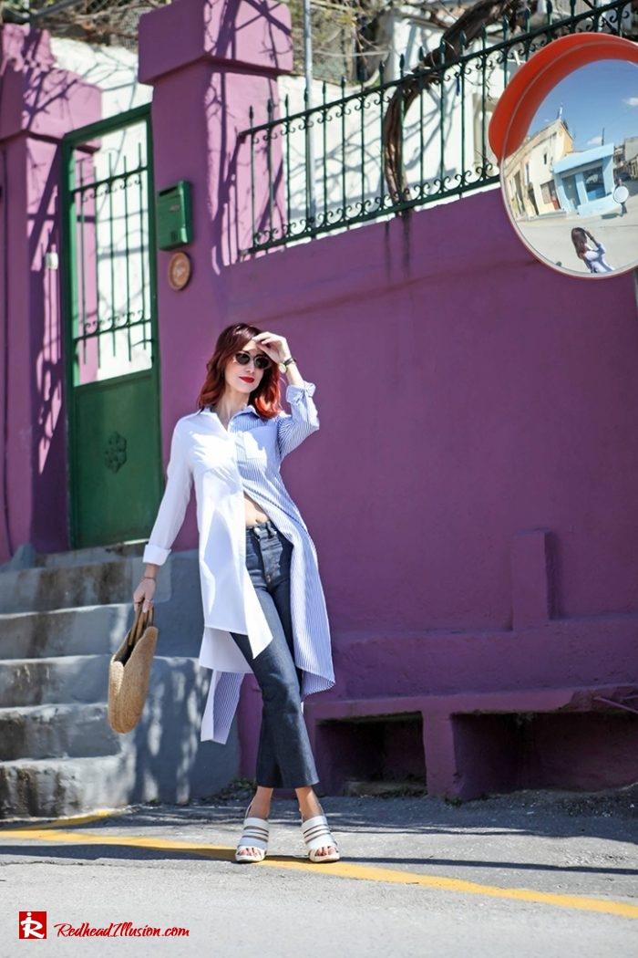 Redhead Illusion - Fashion Blog by Menia - Get shirty - Striped Shirt-02