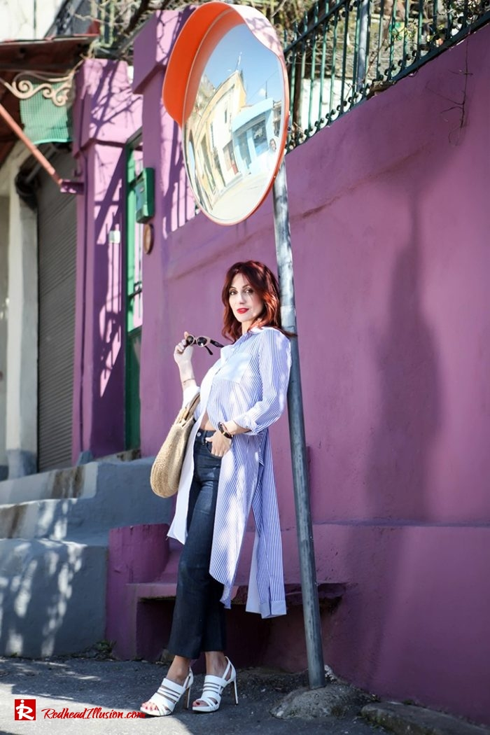 Redhead Illusion - Fashion Blog by Menia - Get shirty - Striped Shirt-03