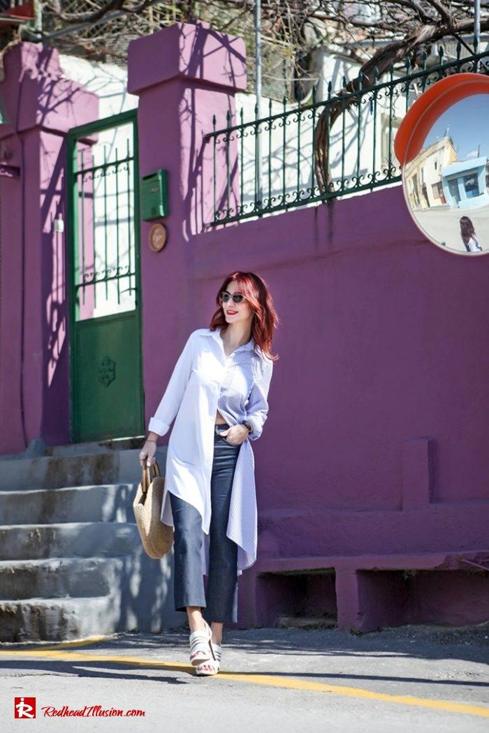 Redhead Illusion - Fashion Blog by Menia - Get shirty - Striped Shirt-04