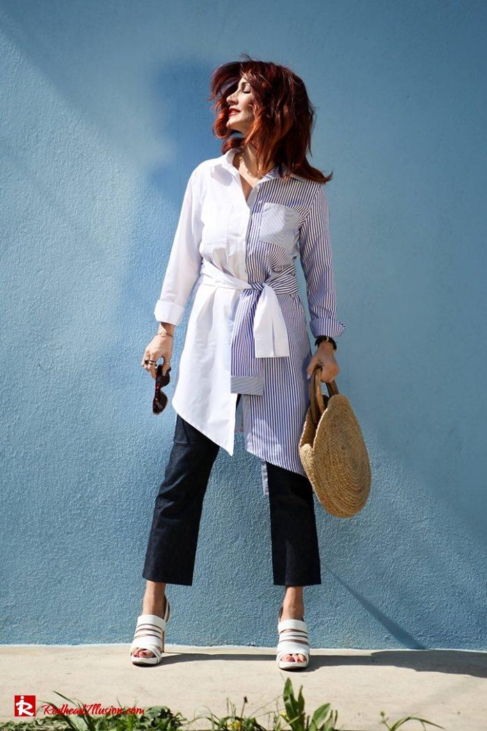 Redhead Illusion - Fashion Blog by Menia - Get shirty - Striped Shirt-05