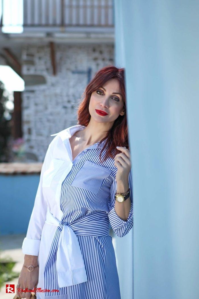 Redhead Illusion - Fashion Blog by Menia - Get shirty - Striped Shirt-07