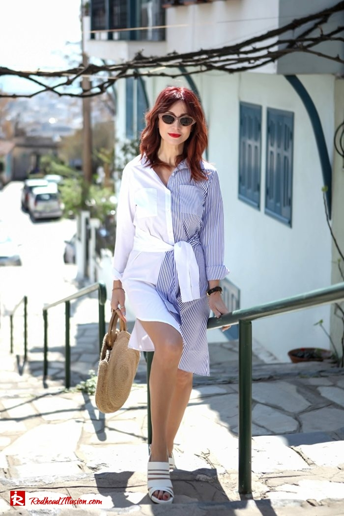Redhead Illusion - Fashion Blog by Menia - Get shirty - Striped Shirt-08