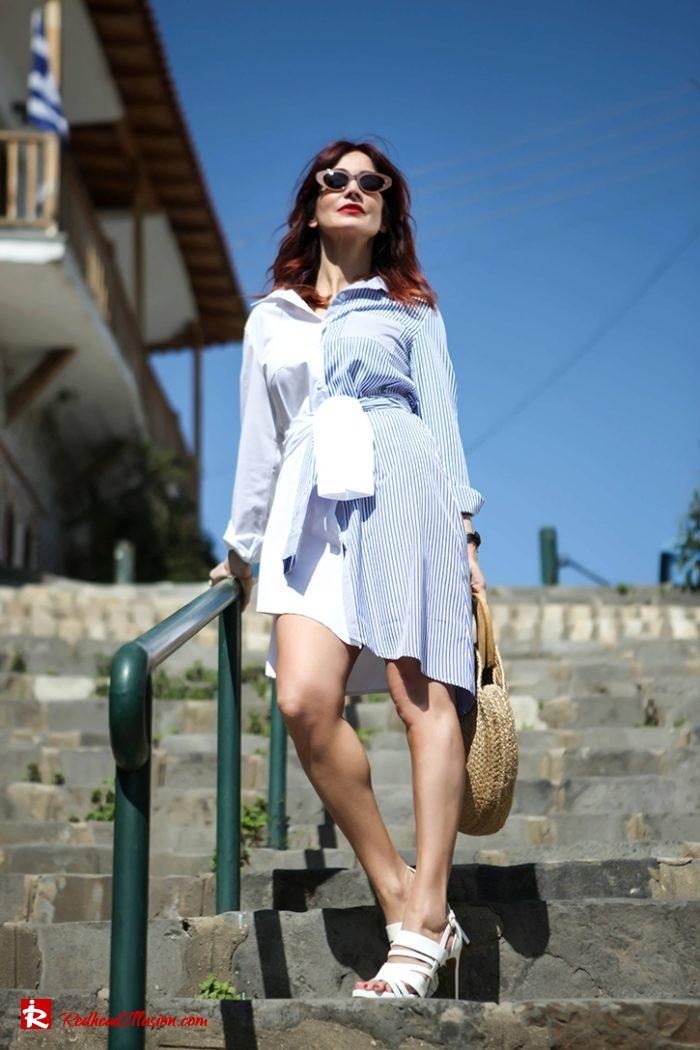 Redhead Illusion - Fashion Blog by Menia - Get shirty - Striped Shirt-09