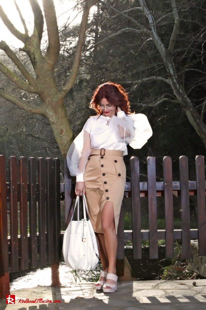 Redhead Illusion - Fashion Blog by Menia - Some skirts go everywhere - Denny Rose Blouse-04