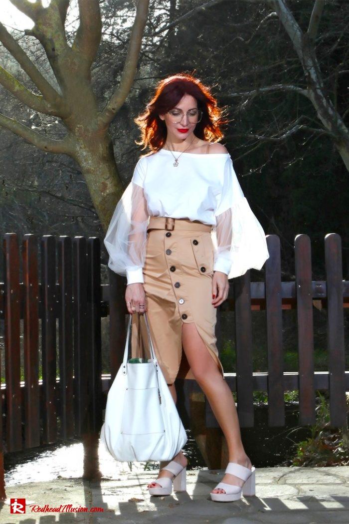 Redhead Illusion - Fashion Blog by Menia - Some skirts go everywhere - Denny Rose Blouse-05