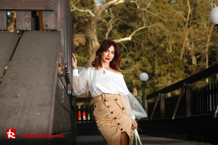 Redhead Illusion - Fashion Blog by Menia - Some skirts go everywhere - Denny Rose Blouse-08